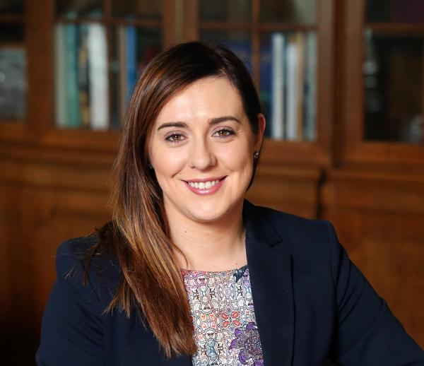 Junior Minister Megan Fearon MLA