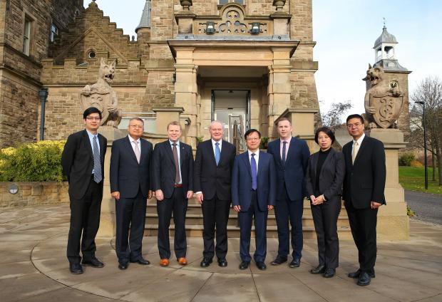 Ministers meet with China Investment Corporation