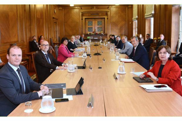 NI Executive meeting