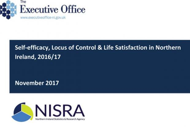 Self-efficacy, Locus of Control & Life Satisfaction in Northern Ireland, 2016/17 front cover