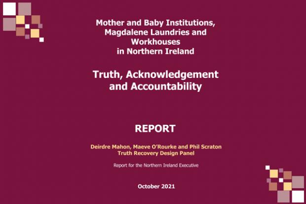 Truth, Acknowledgement and Accountability report - front cover