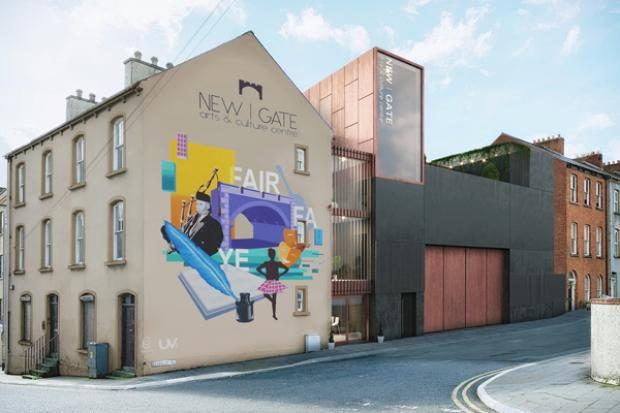 New arts and culture centre in the Fountain - CGI for illustration purposes only