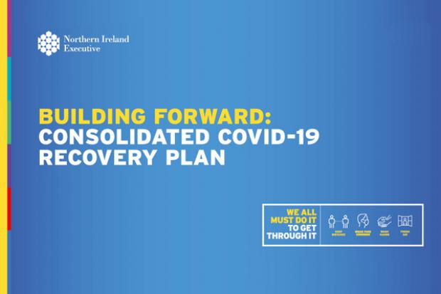 Building Forward – Consolidated Covid Recovery Plan cover