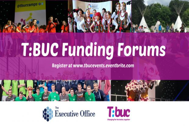 Together Building a United Community Funding Forums eventbrite graphic