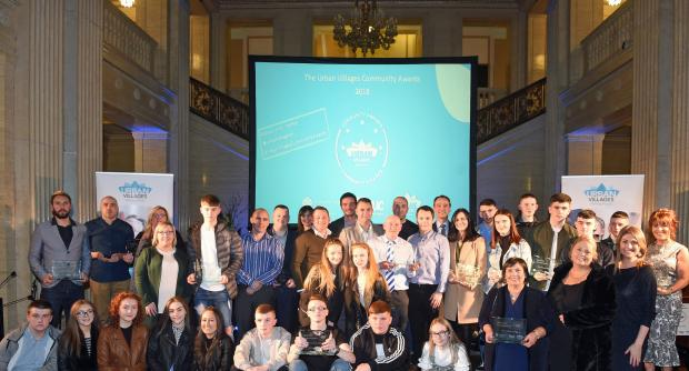 Picture of the the Urban Villages Community Awards which took place at Parliament Buildings, Stormont on Wednesday 21 March 2018