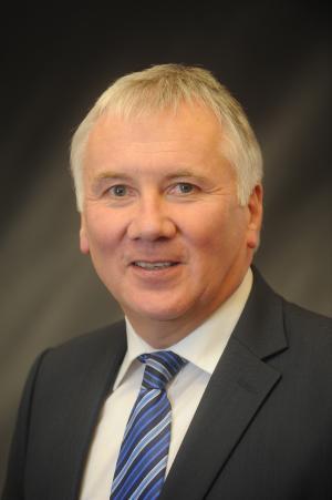 Head of the Civil Service Dr Malcolm McKibbin